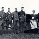 Kurt Tank, Edmund Pfister, Paul-Eduard Pank, Hermann Winter, Joseph Kutin_vor der Charlotte II